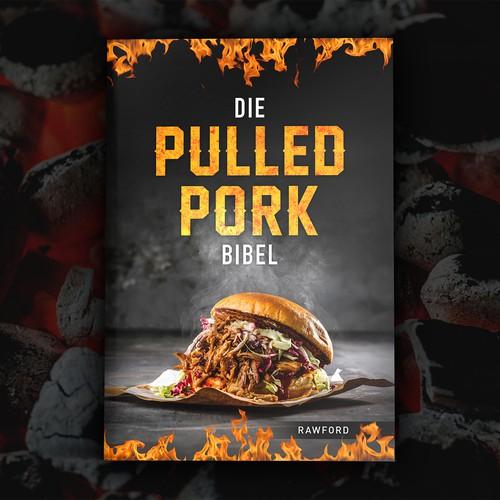 Book Cover Design – Die Pulled Pork Bibel