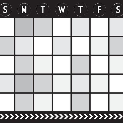 Calendar Decal