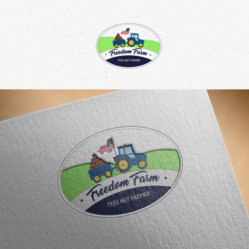 Logo design for Freedom Farm