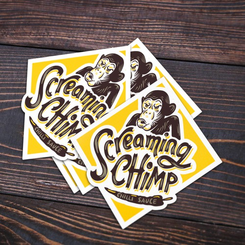 SCREAMING CHIMP CHILLI SAUCE