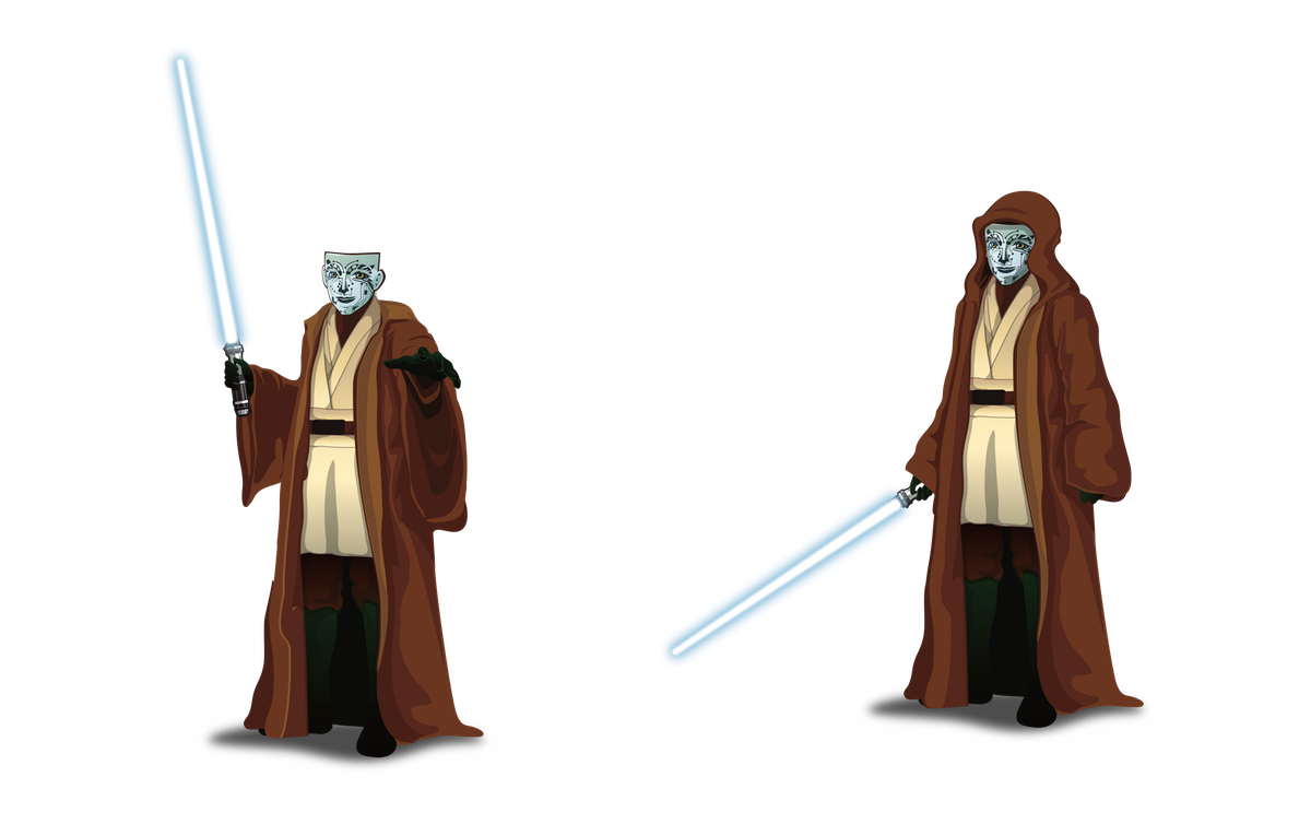 NETWISE CHARACTER AS A STAR WARS JEDI