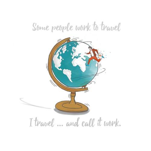 Travel agency tshirt