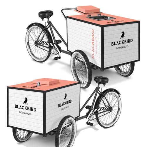 Blackbird Doughnuts Trike Design