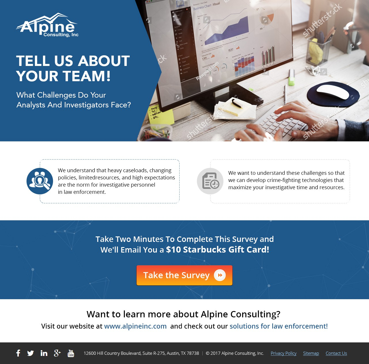 Landing Page - Alpine Consulting