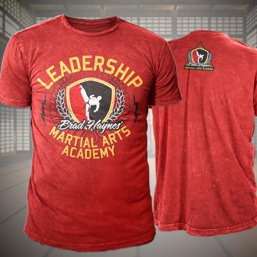 Martial Arts Shirt Design