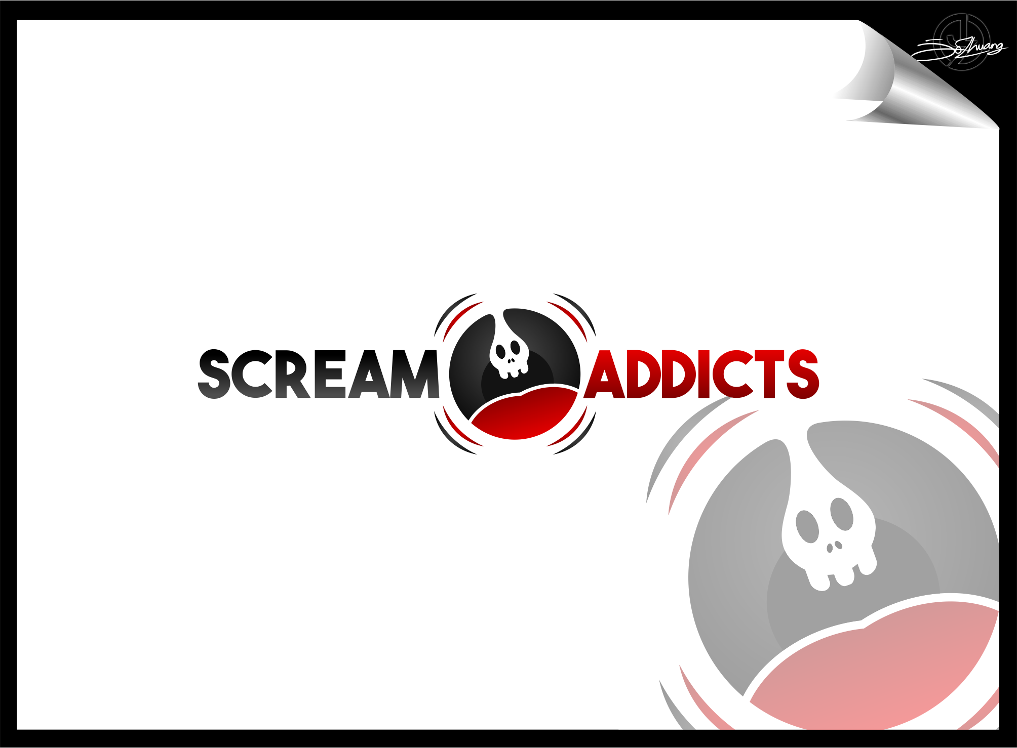 Horror Genre YouTube Show Logo