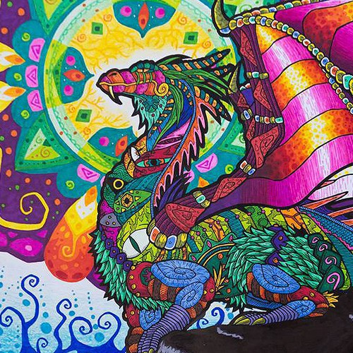 Psychedelic Dragon
