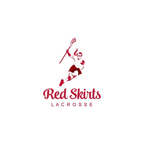 Logo for Red Skirts Lacrosse