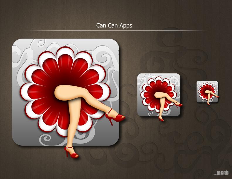 iOS icon design for company logo