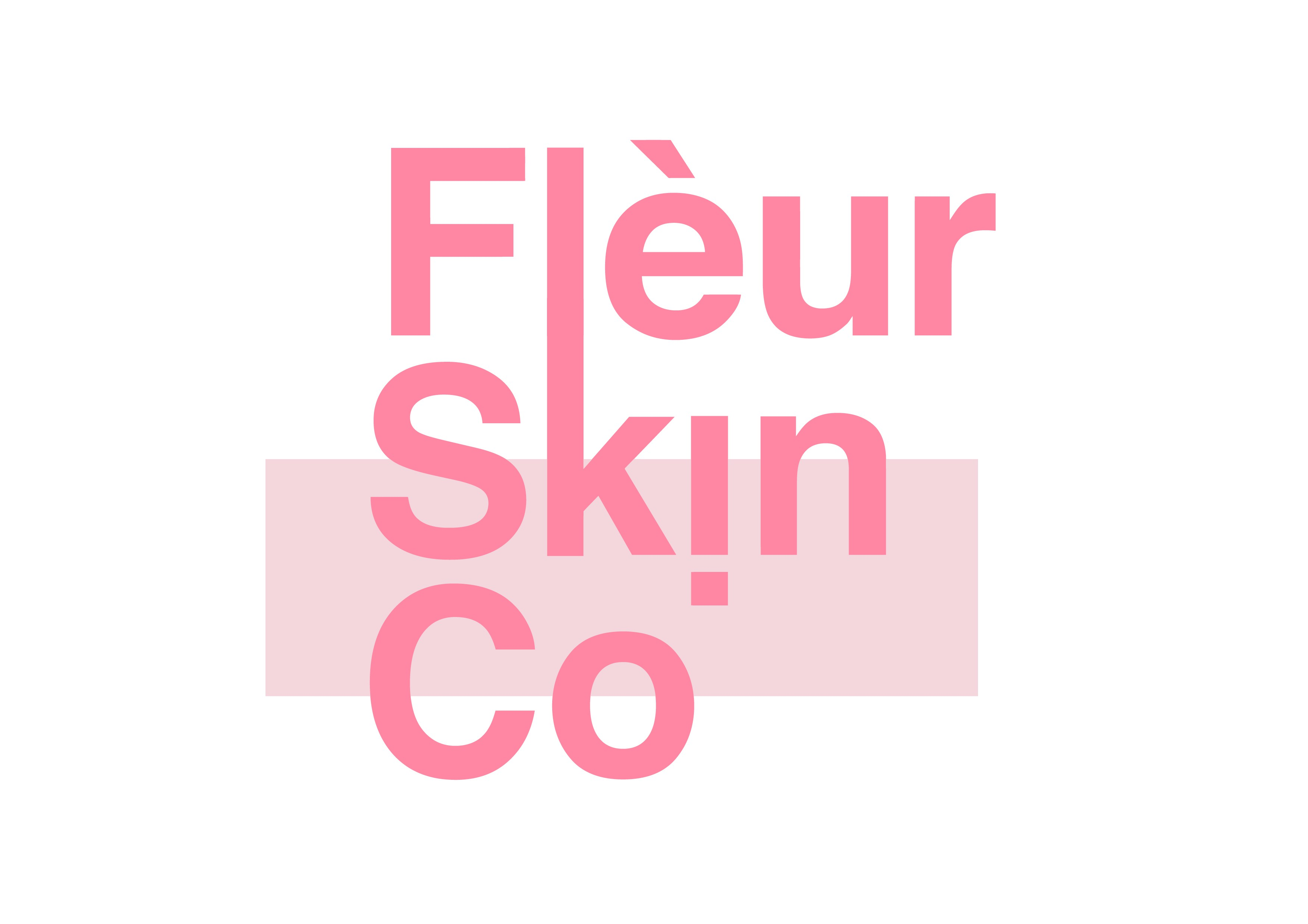 Modern skin care logo - to appeal to women and influencers