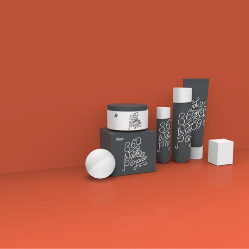 Product design for a pomade procuct