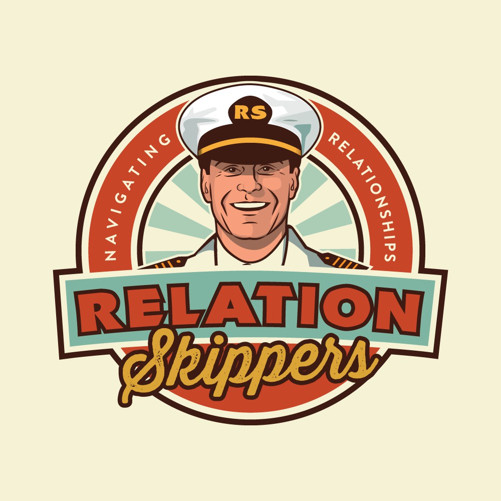 Design a cool retro logo for RelationSkippers podcasts