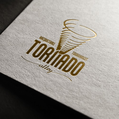 Tornado Alley Racquetball Tournment branding project