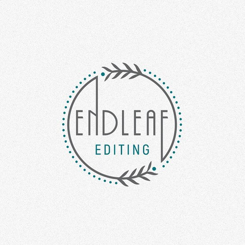 Clean Logo Concept for 'Endleaf Editing'