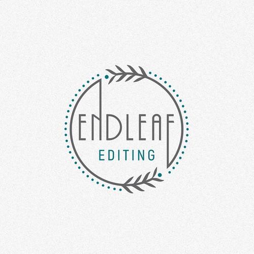 Clean Logo Concept for 'Endleaf Editing'