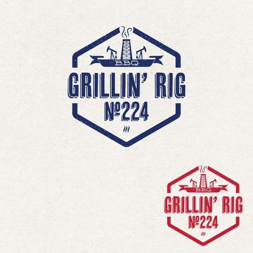 Design a logo for a West Texas BBQ company