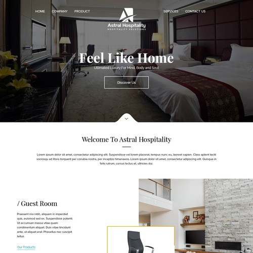 Mobile and tab responsive theme based wordpress design