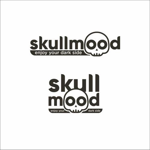 Bold Logo Concept for Skullmood