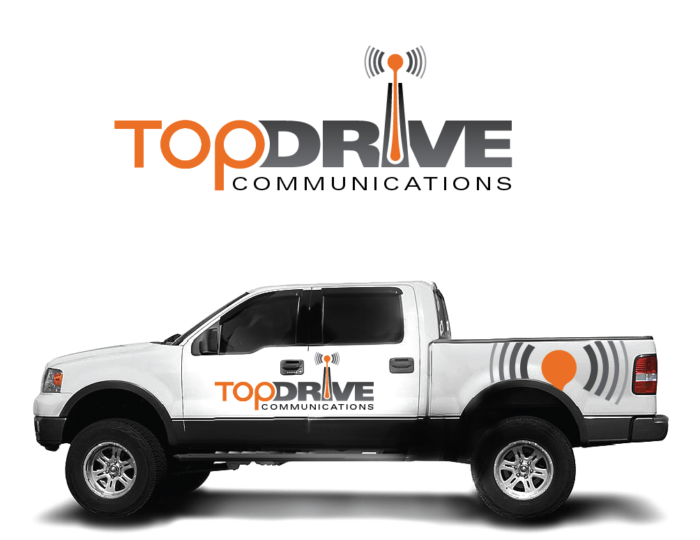 Create the next logo for TopDrive Communications