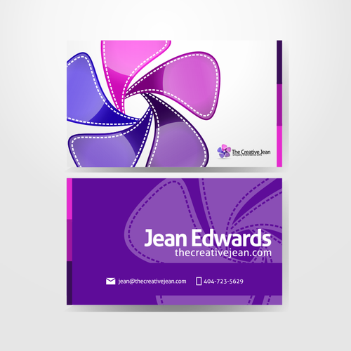 New logo and business card wanted for The Creative Jean