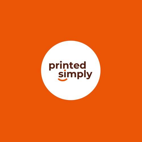 printed simply