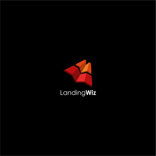 Logo for landing wiz