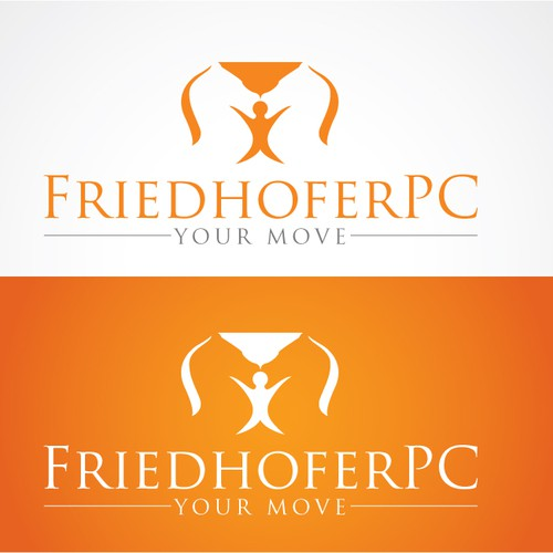 Design a unique logo and business card for Friedhofer PC or FriedhoferPC