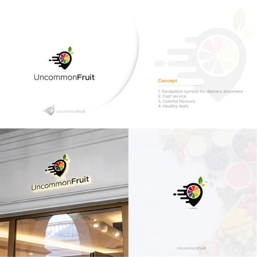 logo designing for Uncommon Fruit