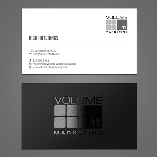 Spot Business card design
