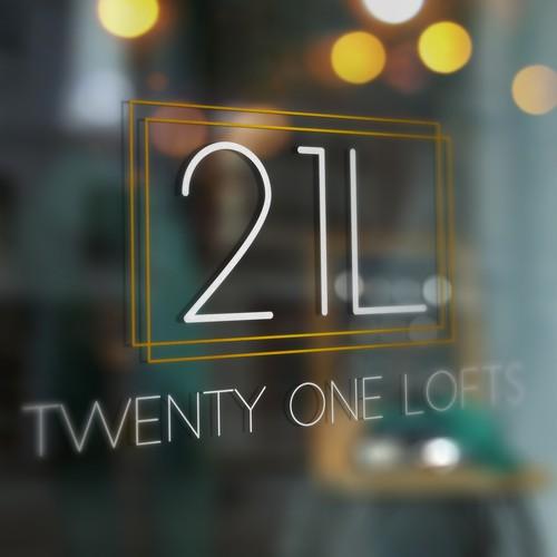 Twenty One Lofts Logo