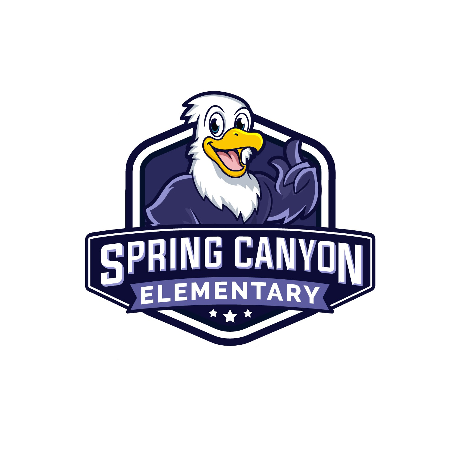 Design a logo for a brand new school: Spring Canyon Elementary