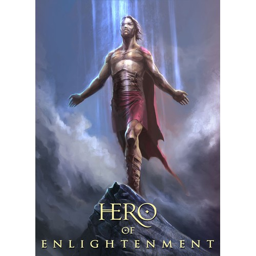 "Powerful Illustration for ""HERO OF ENLIGHTENMENT"""
