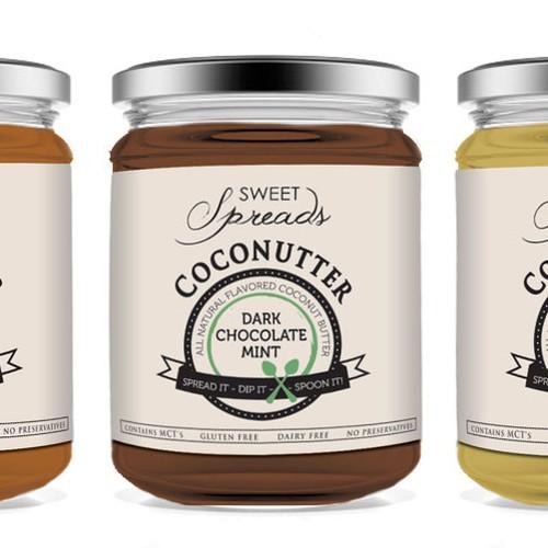 Label for Natural Coconutter