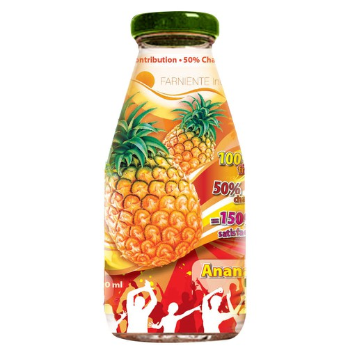 FRUITS JUICES LABELS DESIGNER