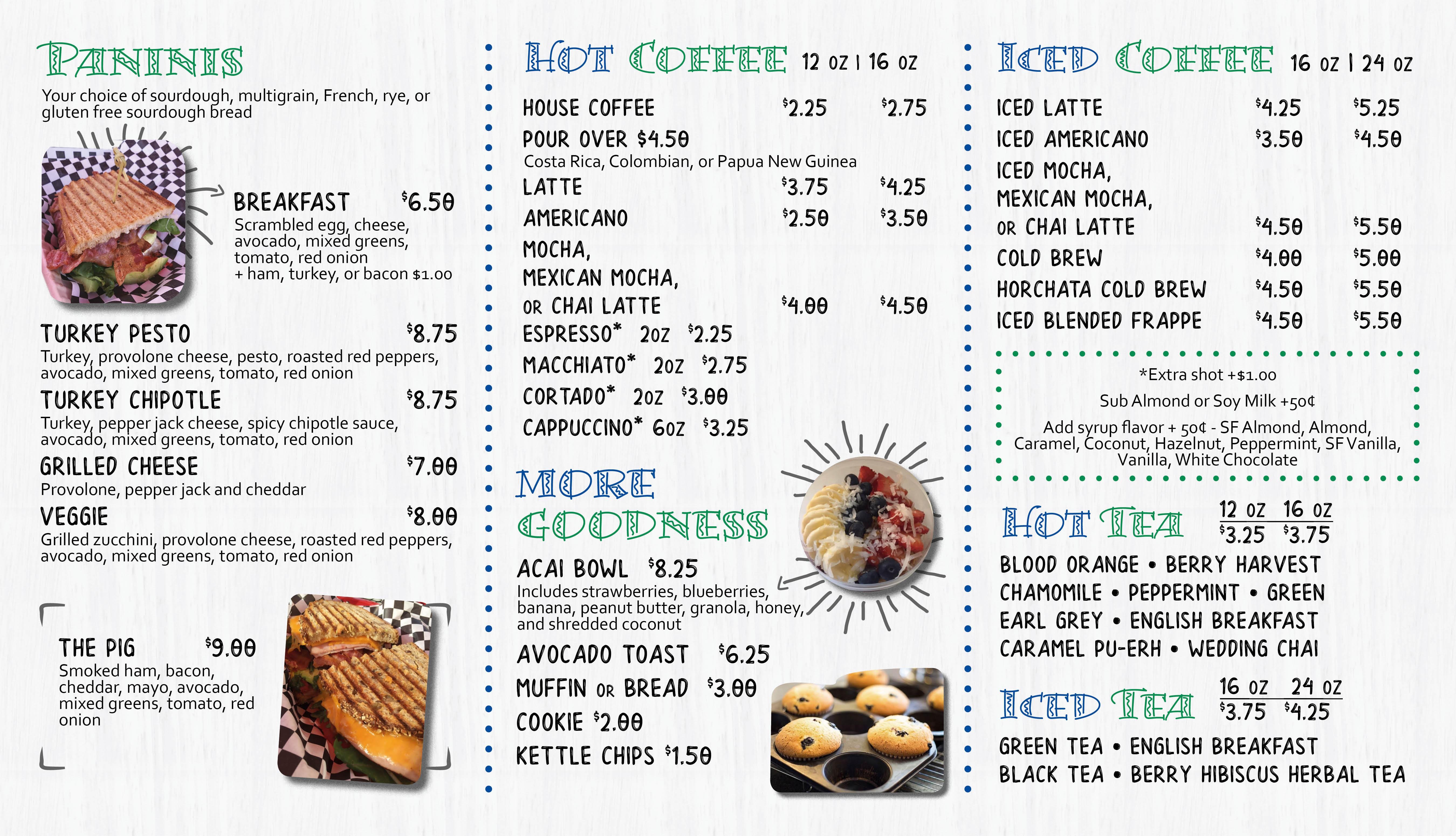 SoCal Cafe needs a menu facelift