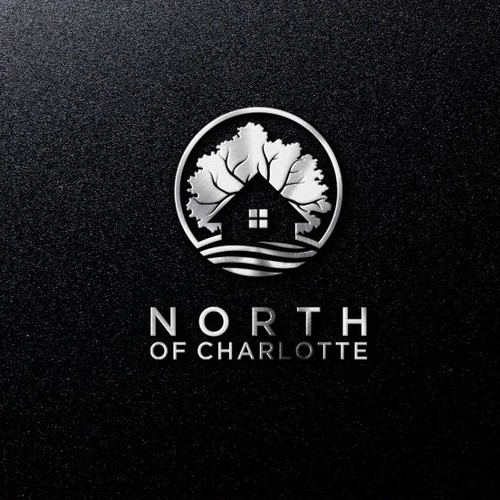 simple logo concept for nort of charlotte