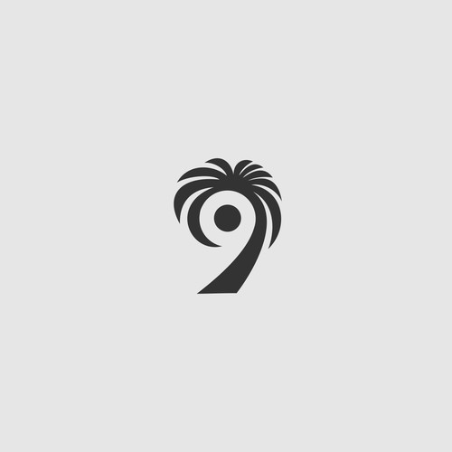 creative logo concept for 9 & MORE, a sport fashion brand