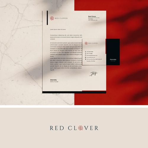 Logo Concept for Red Clover