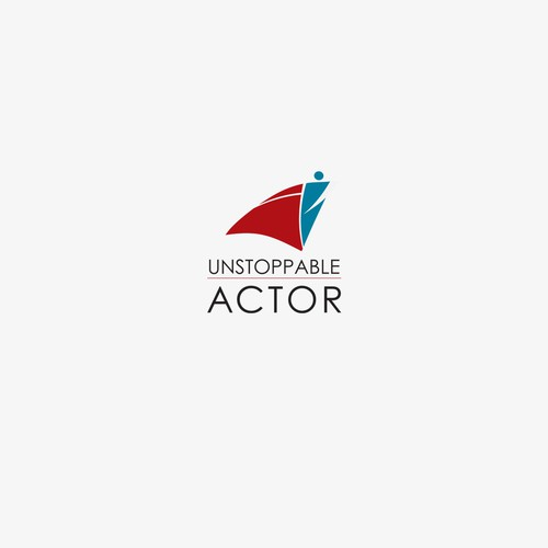 Logo for Unstoppable Actorthat (digital coaching classes for actors).