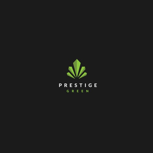 PRESTIGE GREEN (weed-abstract)