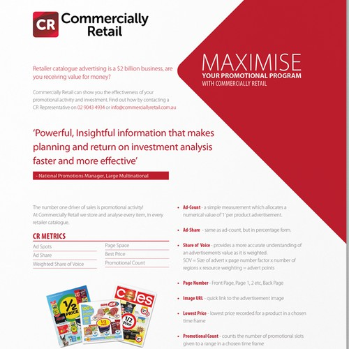 Commercially Retail Brochure