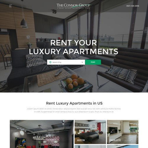 Real Estate, Rental, Luxury apartments