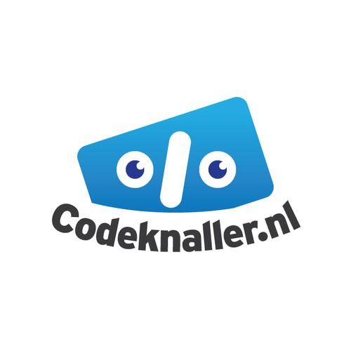 Creative Logo for Codeknaller.nl