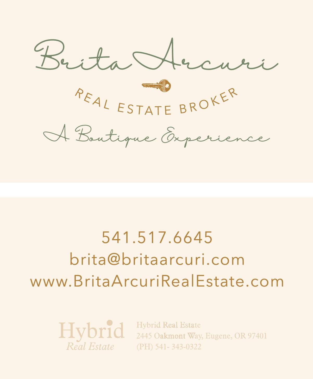 britaarcuri Business Card