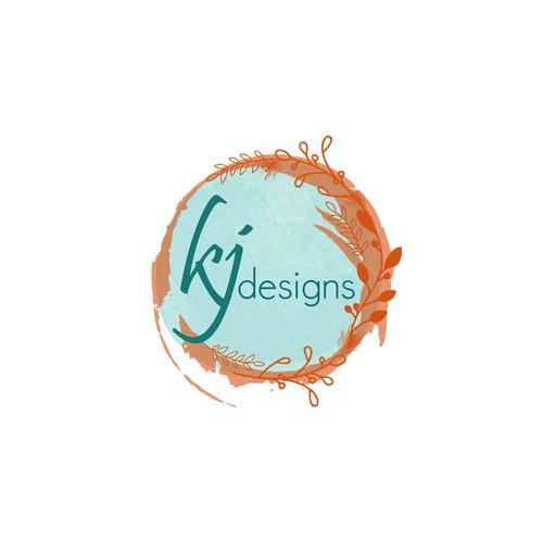 Organic Logo Design for a Party Design Company