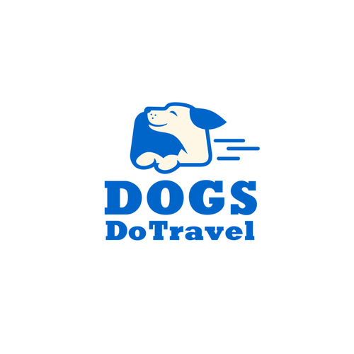 Create a contemporary, stylish, stand-out logo for Dogs Do Travel