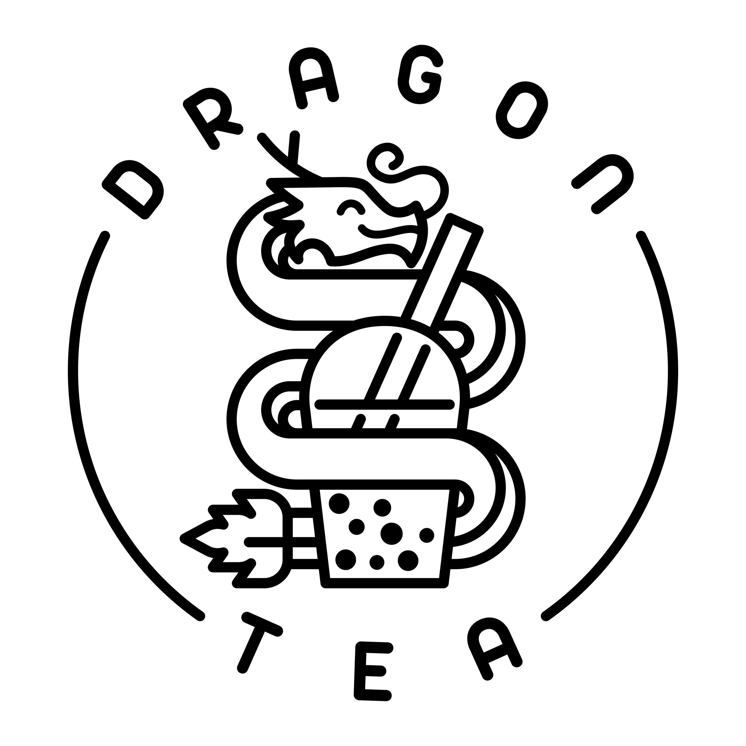 Bubble tea logo pls