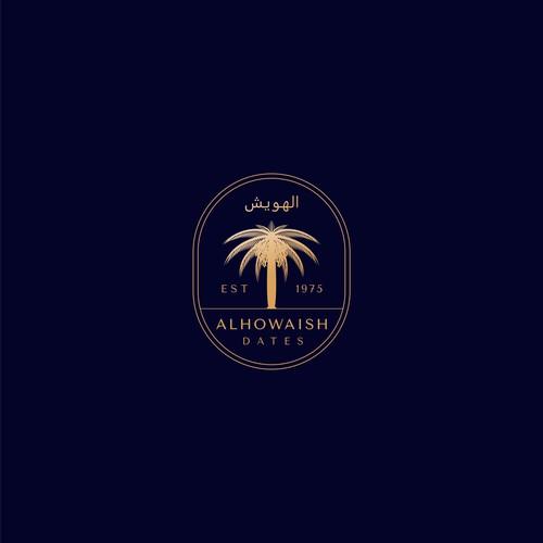 Logo & Brand Identity Design for Alhowaish Luxurious Dates