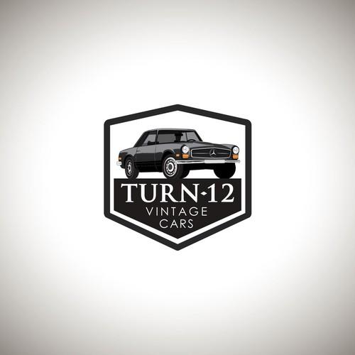 A Vintage Classic Car Company Logo
