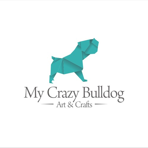 My Crazy Bulldog - fun, simple and happy, with lots of creativity. (Patchwork)